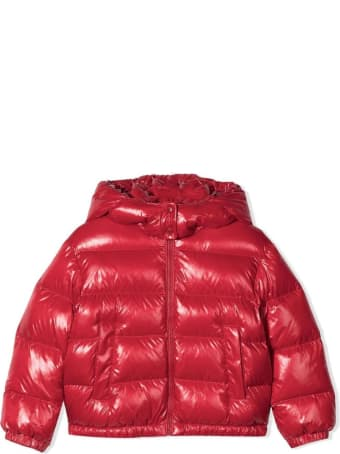 Moncler Candy-red Feather Down Jacket