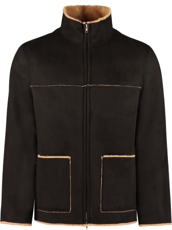 STAND STUDIO Calvin Faux Shearling Jacket