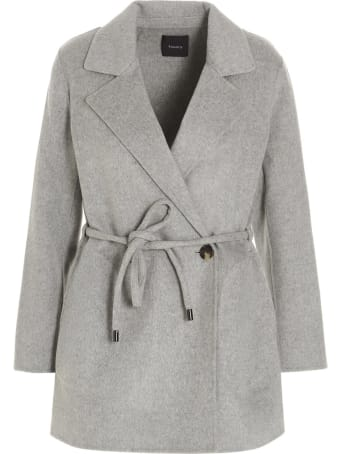 Theory 'clairene Deluxe New' Coat