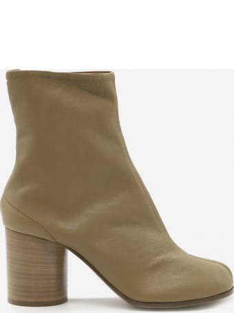 Maison Margiela Tabi Split Leather Ankle Boots