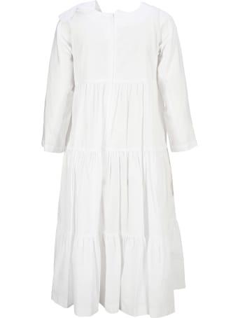 Comme Des Garçons Girl Tiered Cotton Dress