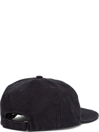 Off-White Cotton Hat With Logo Embroidery