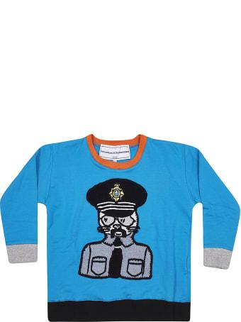 Michaela Buerger Contrast Trim Sweatshirt