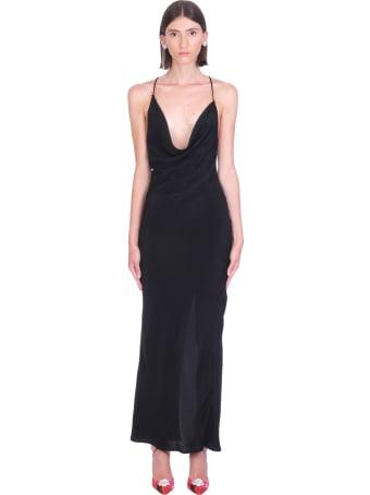 Magda Butrym Dress In Black Silk