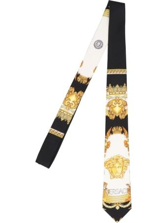 Versace 'medusa Reinassance' Tie