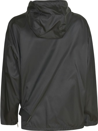 Prada Zipped Plain Raincoat