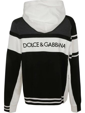 Dolce & Gabbana Layered Hooded Sweatshirt