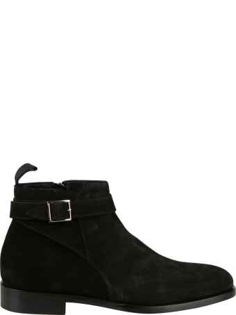 Doucal's Ankle Buckle Strap Boots