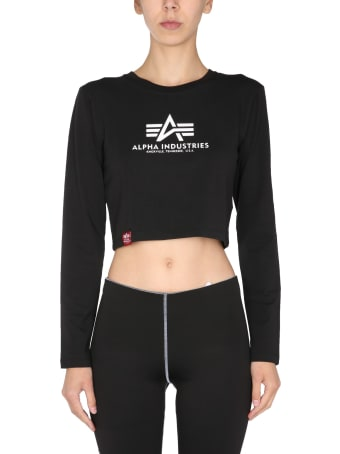 Alpha Industries Cropped Fit T-shirt