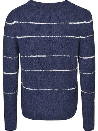Officine Générale Stripe Sweatshirt