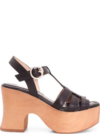 Ras 'vaqueta' Leather Sandal