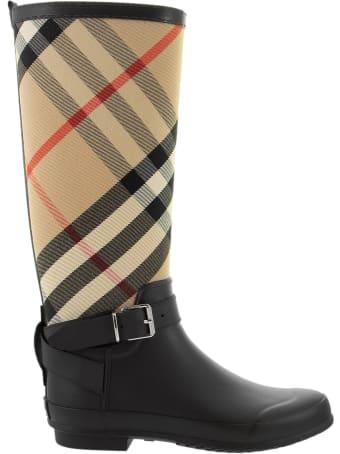 Burberry Simeon - Tartan Rain Boots
