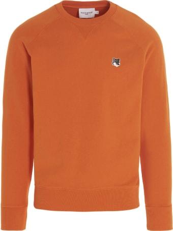 Maison Kitsuné 'grey Fox Head' Sweatshirt