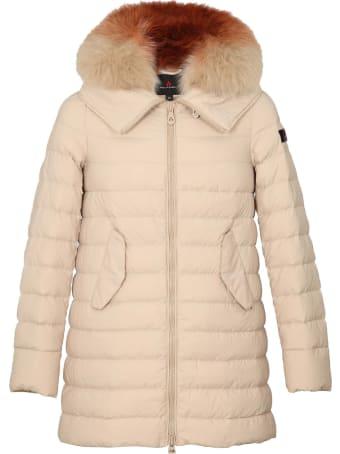 Peuterey Itoka Down Jacket With Fur Collar