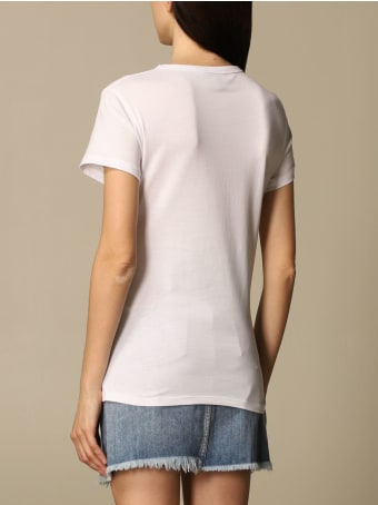 Just Cavalli T-shirt Just Cavalli T-shirt With Big Logo