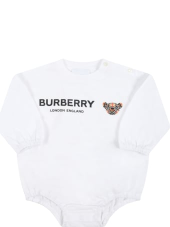 Burberry Multicolor Set For Baby Girl