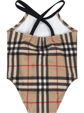 Burberry Beige Swimwear For Babygirl