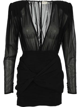 Magda Butrym Silk Mini Dress
