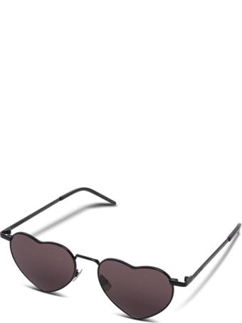Saint Laurent Black Heart Sunglasses