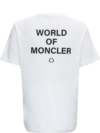 Moncler Genius World Of Moncler White Tee By Frgmt Hiroshi Fujiwara