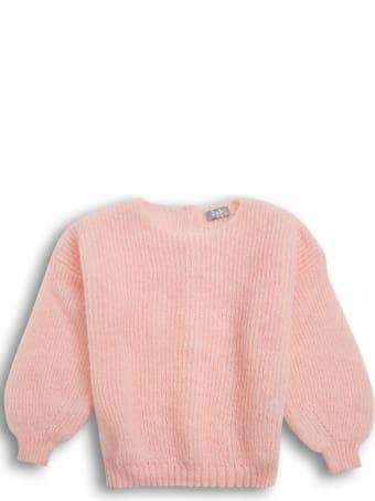 Il Gufo Pink Cashmere Blend Sweater
