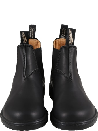 Blundstone Black Boots For Boy With Logo