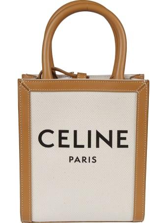Celine Logo Print Tote