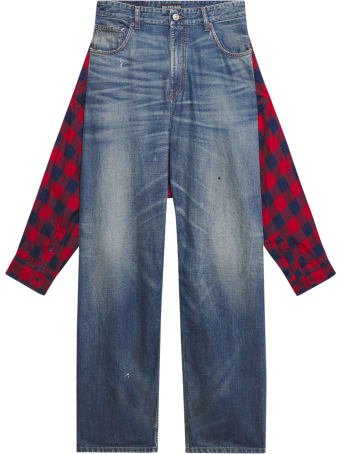 Balenciaga Tied-up Pants Denim