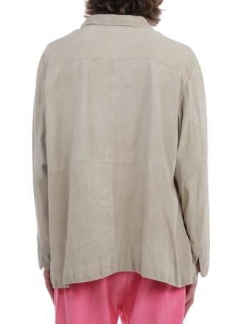 ERL Beige Suede Jacket