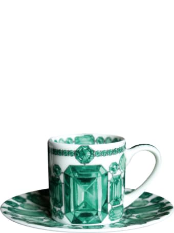 Taitù Set of 2 Espresso Cups & Saucers - Forever Collection