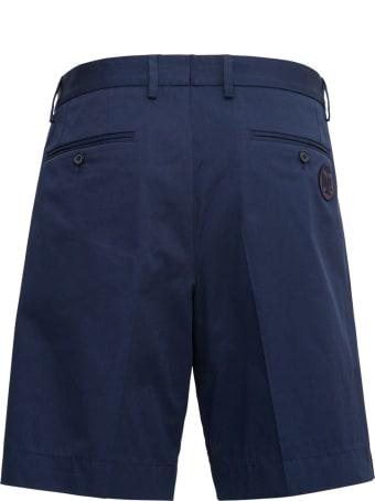 Dolce & Gabbana Blue Cotton Bermuda Shorts