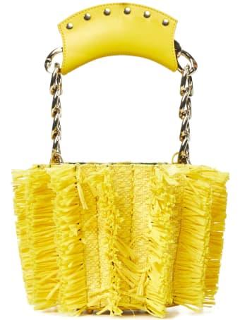 Sara Battaglia Mini Bucket Handbag