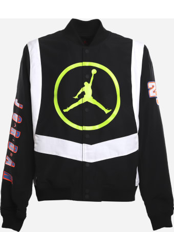 Jordan Sport Dna Jacket In Cotton Blend With All-over Graphic Prints