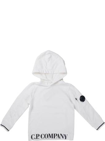 C.P. Company Sweatshirts - Sweat Hooded White