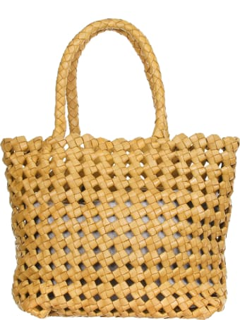 Officine Creative Shopping Bag Yellow Corn Colored