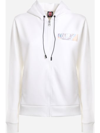 Colmar Cotton Blend Sweatshirt With Iridescent Logo