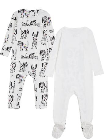 Stella McCartney Kids Set Of Two Dalmatian Printed Cotton Onesie