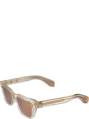 Jacques Marie Mage Square Frame Sunglasses