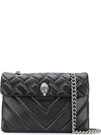 Kurt Geiger Leather Kensington X Bag Black/comb