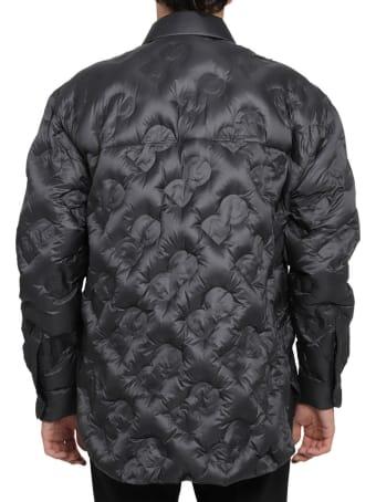 Dolce & Gabbana Black Quilted Shirt