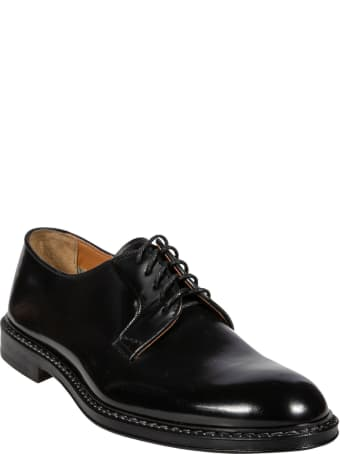 Doucal's Round Toe Classic Derby Shoes