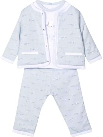 Givenchy Light Blue Suit Unisex