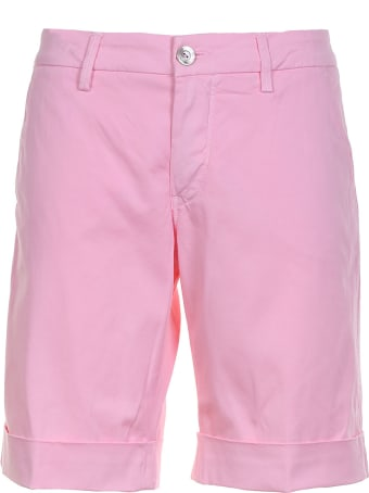 Re-HasH Bermuda Shorts Pink