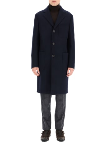 The Gigi Rigel In Wool Blend Coat