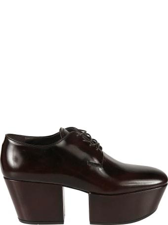 Prada High Platform Brogue Shoes
