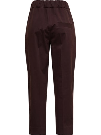 Tela Kilo Pants In Brown Cotton