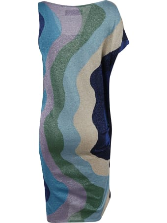 Circus Hotel One Sleeve Detail Dress