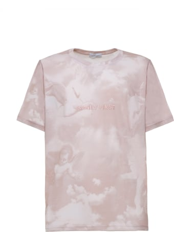 Family First Milano T-shirts The Saints Pink