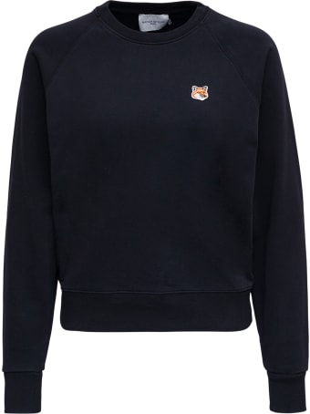 Maison Kitsuné Fox Head Patch Adjusted Sweatshirt