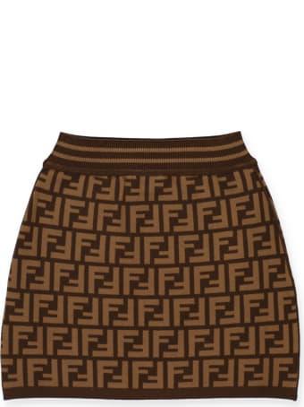 Fendi Monogram Skirt